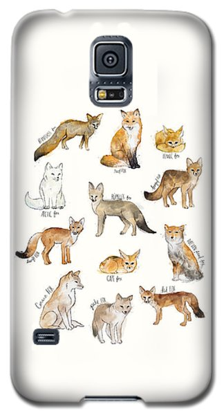 Foxes Galaxy S5 Case by Amy Hamilton