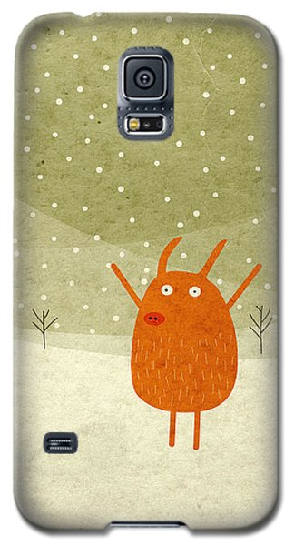 Galaxy S5 Cases - Pigs and bunnies Galaxy S5 Case by Fuzzorama