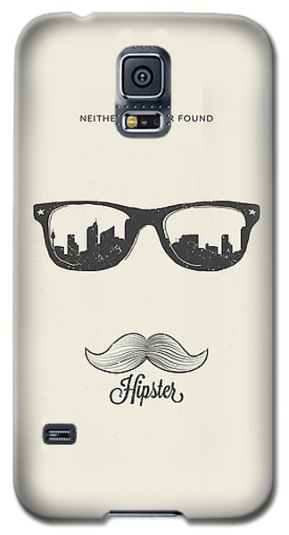 Hipster Neither Lost Nor Found Galaxy S5 Case by Bekare Creative