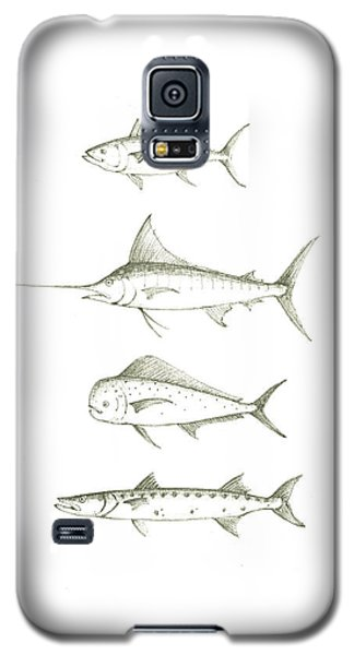 Saltwater Gamefishes Galaxy S5 Case by Juan Bosco