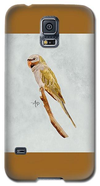 Derbyan Parakeet Galaxy S5 Case by Angeles M Pomata