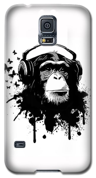 Monkey Business Galaxy S5 Case by Nicklas Gustafsson