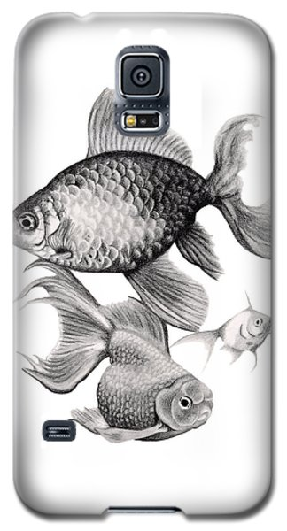 Goldfish Galaxy S5 Case by Sarah Batalka