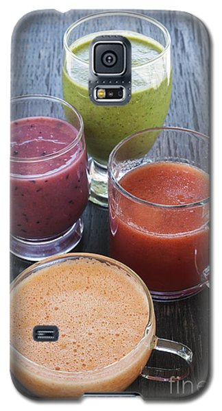 Assorted Smoothies Galaxy S5 Case by Elena Elisseeva