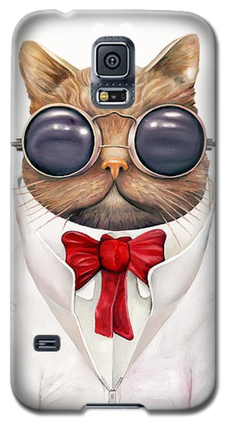 Astro Cat Galaxy S5 Case by Animal Crew