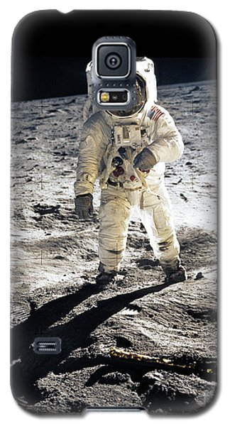 Astronaut Galaxy S5 Case by Photo Researchers