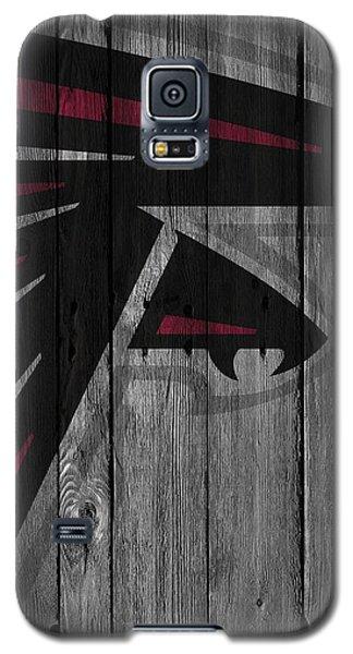 Atlanta Falcons Wood Fence Galaxy S5 Case by Joe Hamilton