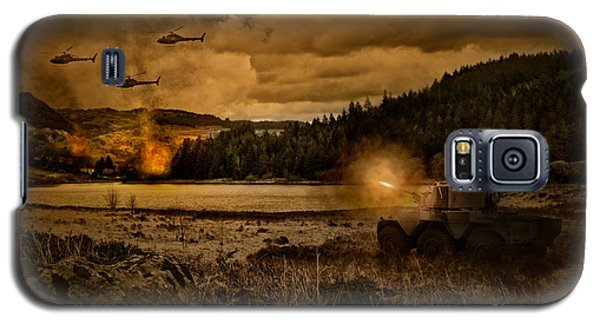 Attack At Nightfall Galaxy S5 Case by Amanda And Christopher Elwell
