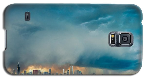 Attention Seeking Clouds Galaxy S5 Case by Cory Dewald