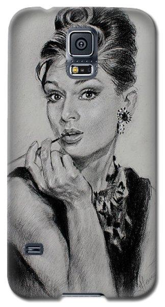 Audrey Hepburn Galaxy S5 Case by Ylli Haruni