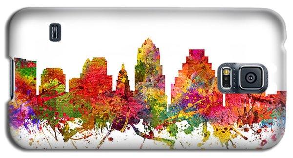Austin Cityscape 08 Galaxy S5 Case by Aged Pixel