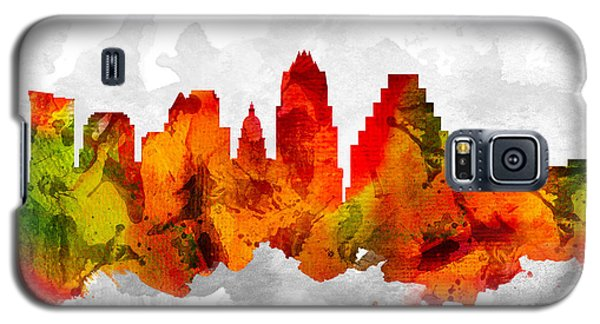 Austin Texas Cityscape 15 Galaxy S5 Case by Aged Pixel