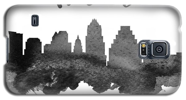 Austin Texas Skyline 18 Galaxy S5 Case by Aged Pixel