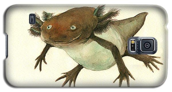 Axolotl Galaxy S5 Case by Juan Bosco
