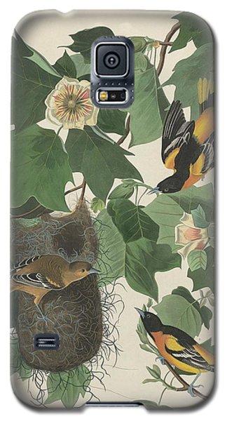 Baltimore Oriole Galaxy S5 Case by John James Audubon