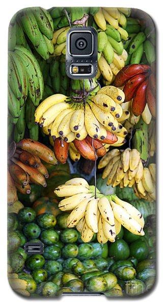 Banana Display. Galaxy S5 Case by Jane Rix