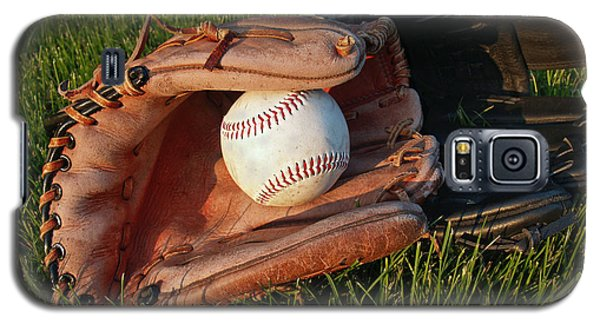 Baseball Gloves After The Game Galaxy S5 Case by Anna Lisa Yoder