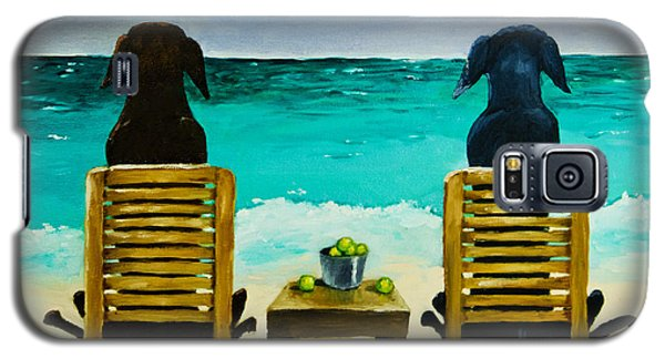 Beach Bums Galaxy S5 Case by Roger Wedegis