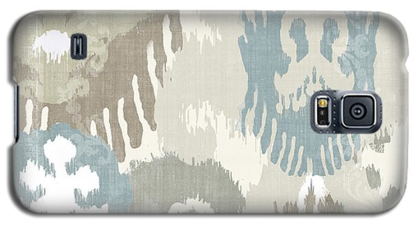 Beach Curry I Ikat Galaxy S5 Case by Mindy Sommers