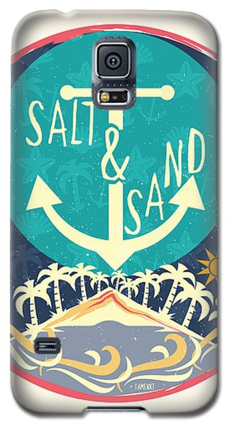 Beach Galaxy S5 Case by Famenxt DB