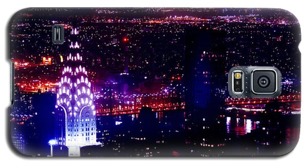 Beautiful Manhattan Skyline Galaxy S5 Case by Az Jackson