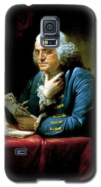 Landmarks Galaxy S5 Cases - Ben Franklin Galaxy S5 Case by War Is Hell Store