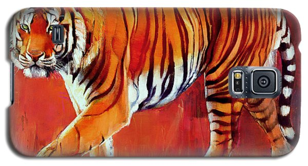 Bengal Tiger  Galaxy S5 Case by Mark Adlington