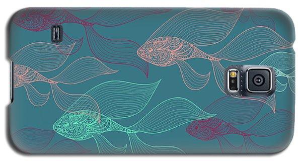 Beta Fish  Galaxy S5 Case by Mark Ashkenazi