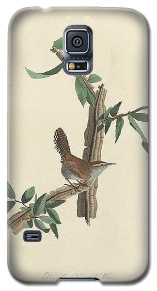 Bewick's Long-tailed Wren Galaxy S5 Case by John James Audubon
