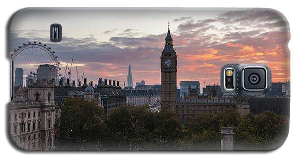 Big Ben London Sunrise Galaxy S5 Case by Mike Reid