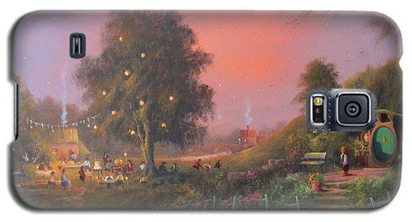 Bilbo's Eleventy-first Birthday Party Galaxy S5 Case by Joe  Gilronan