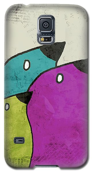 Birdies - V06c Galaxy S5 Case by Variance Collections