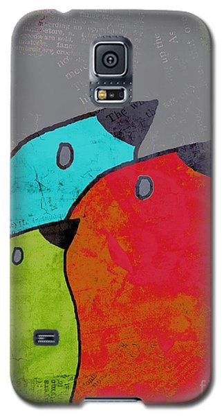 Birdies - V11b Galaxy S5 Case by Variance Collections