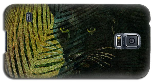 Black Panther Galaxy S5 Case by Arline Wagner