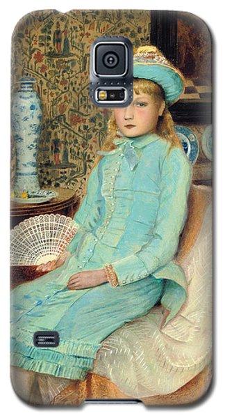 Blue Belle Galaxy S5 Case by John Atkinson Grimshaw