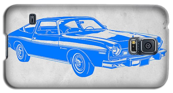 Landmarks Galaxy S5 Cases - Blue Muscle Car Galaxy S5 Case by Naxart Studio