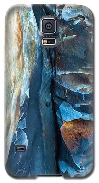 blue Pattern 2 Galaxy S5 Case by Jonathan Nguyen
