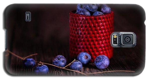 Blueberry Delight Galaxy S5 Case by Tom Mc Nemar