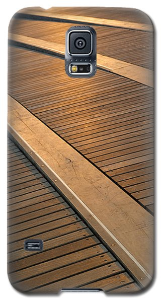 Architecture Galaxy S5 Cases - Boardwalk Galaxy S5 Case by Sebastian Musial