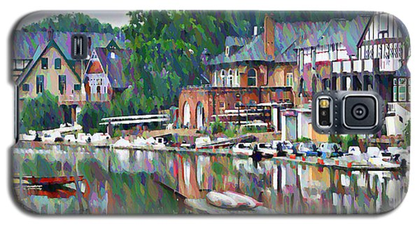 Boathouse Row In Philadelphia Galaxy S5 Case by Bill Cannon