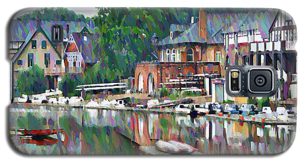 Popular Galaxy S5 Cases - Boathouse Row in Philadelphia Galaxy S5 Case by Bill Cannon