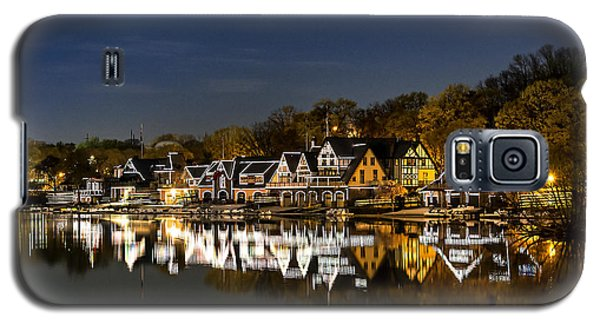 Boathouse Row Galaxy S5 Case by John Greim