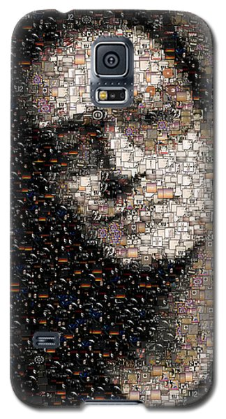Bono U2 Albums Mosaic Galaxy S5 Case by Paul Van Scott