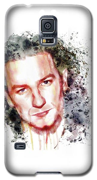 Bono Vox Galaxy S5 Case by Marian Voicu
