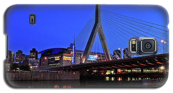 Boston Garden And Zakim Bridge Galaxy S5 Case by Rick Berk