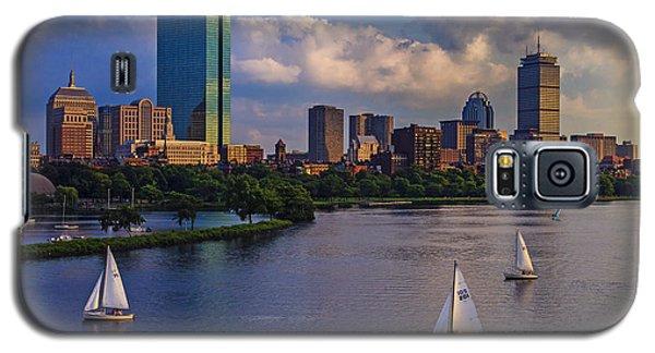 Boston Skyline Galaxy S5 Case by Rick Berk