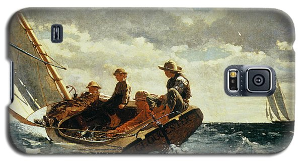 Breezing Up Galaxy S5 Case by Winslow Homer