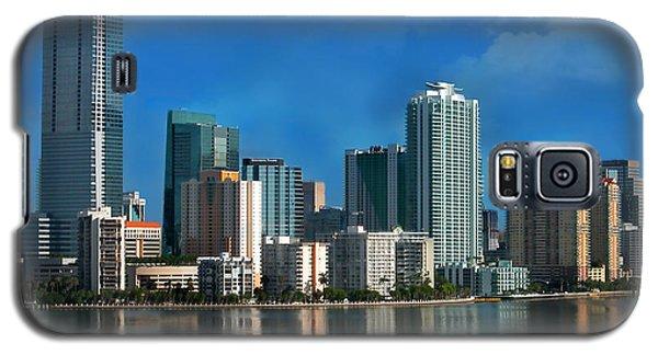 Brickell Skyline 2 Galaxy S5 Case by Bibi Romer