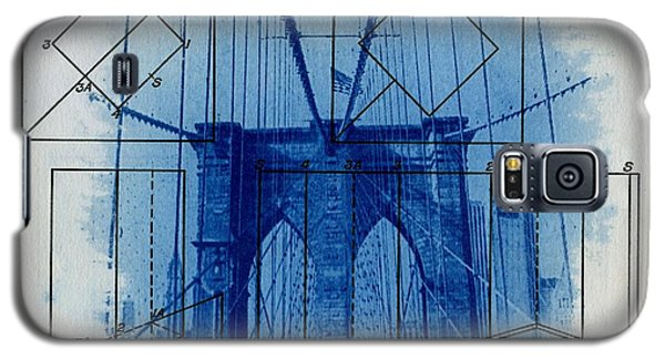 Brooklyn Bridge Galaxy S5 Case by Jane Linders
