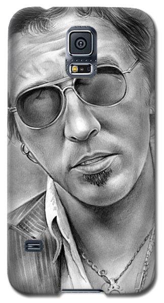 Bruce Springsteen Galaxy S5 Case by Greg Joens
